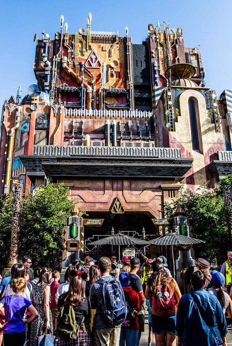Fun Rode - Guardians of the Galaxy - Mission: BREAKOUT! at Disney California Adventure Park