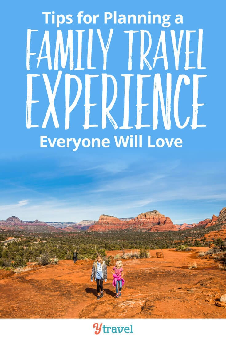 7 Tips for Planning a Family Travel Experience That Everyone Will Love! Planning for a family vacation can be quite ominous. How do you keep everyone happy and engaged? Our family travel tips will help you!