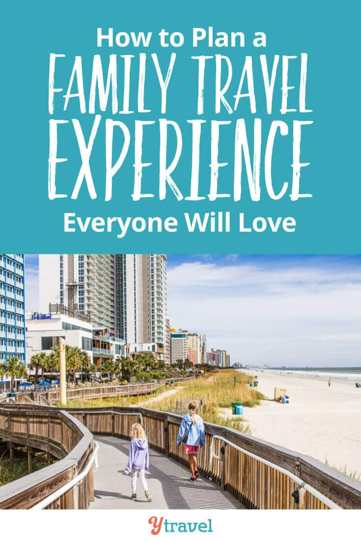 7 Tips for Planning a Family Vacation That Everyone Will Love! Planning for a family travel can be quite ominous. How do you keep everyone happy and engaged? Our family travel tips will help you!