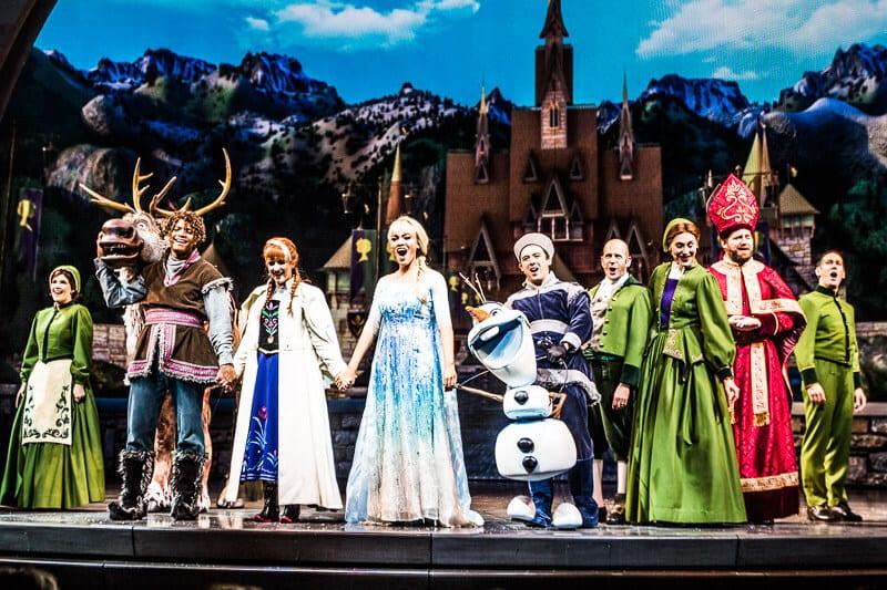 Disney's show: Frozen