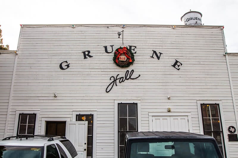 Gruene Hall, Texas Hill Country