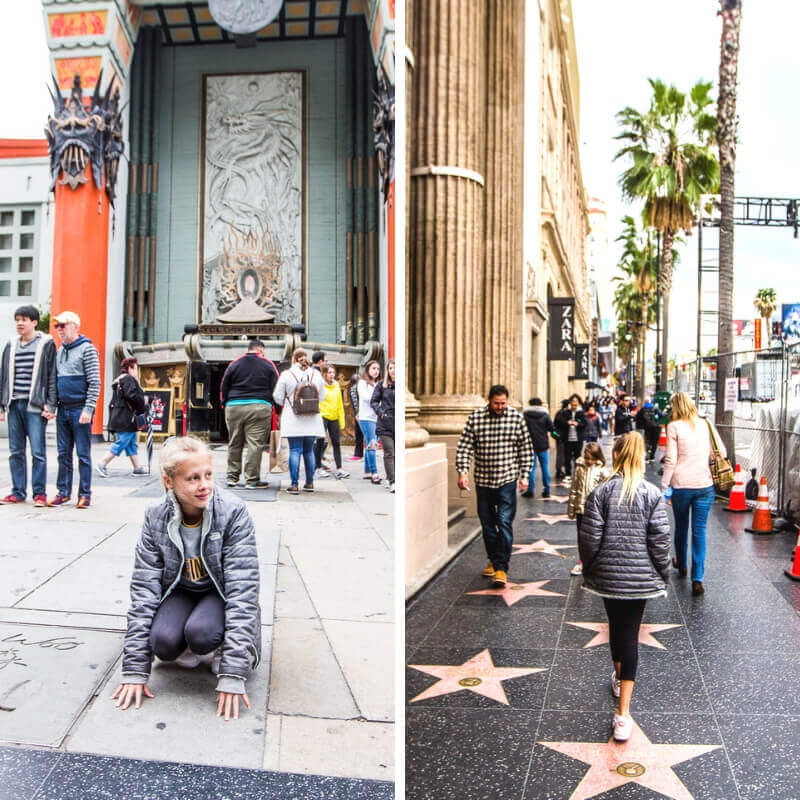 Le Walk of Fame d'Hollywood