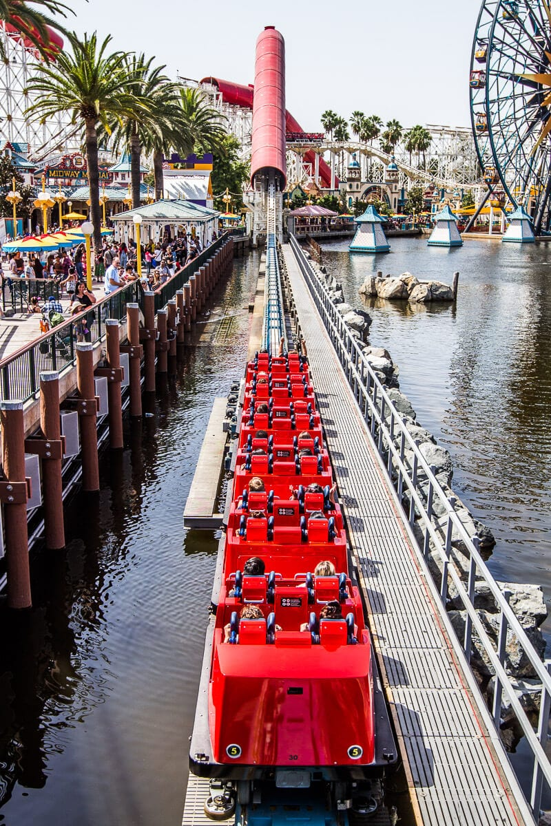 The Incredicoaster at Disney California Adventure Park