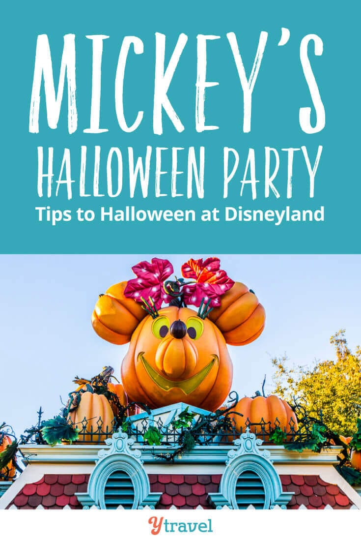 Mickey's Halloween Party is one of the best things to do at Disneyland. This complete guide offers tips for trick or treating, costume ideas, food to eat, shows to watch, getting tickets, and much more! See inside for top tips about the Disneyland Halloween Party at Disneyland Resort California.