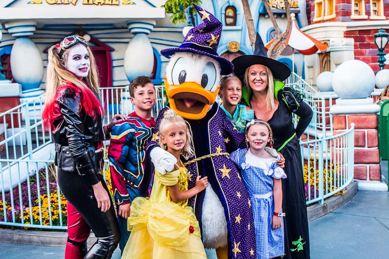 Disneyland Halloween Party