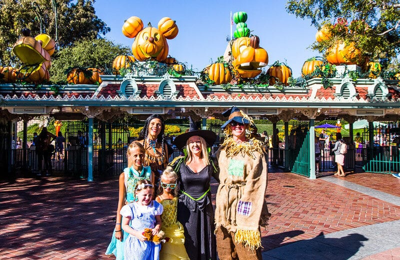 Mickey's Halloween Party at Disneyland Resort, Anaheim, California