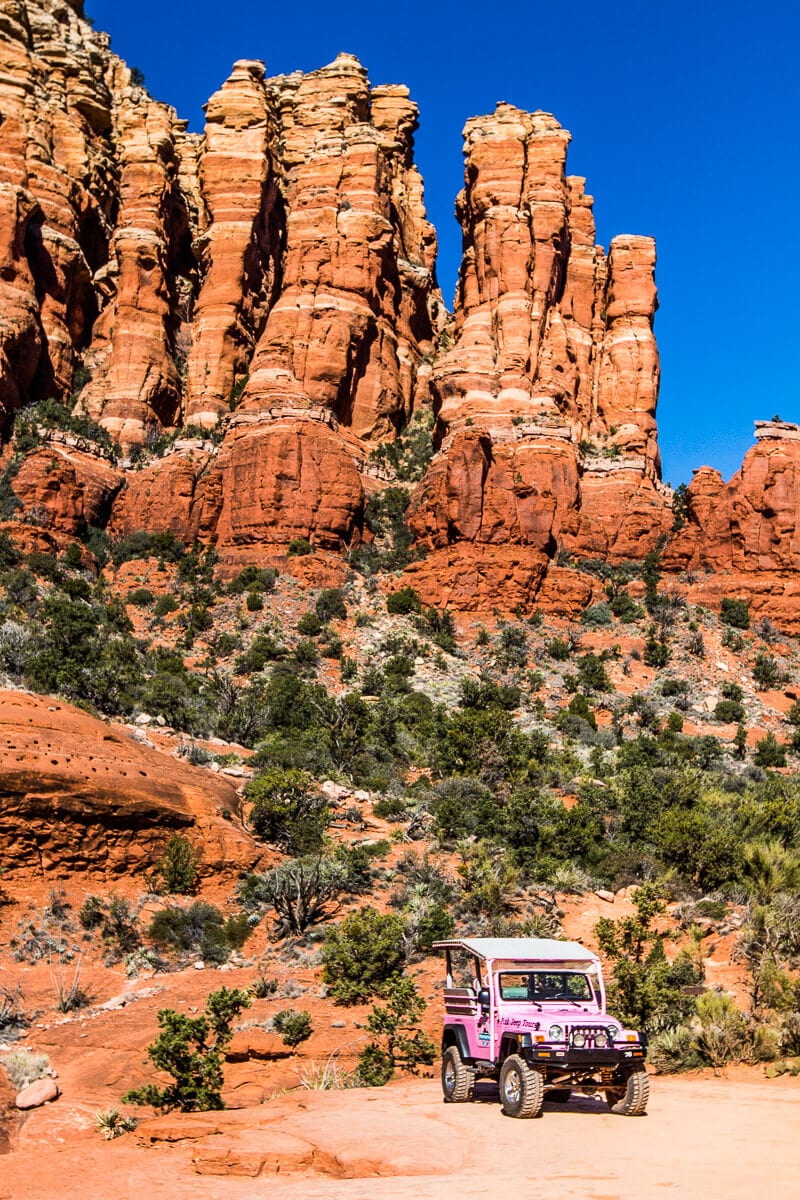 Sedona Pink Jeep Tours, a must do Sedona activity!