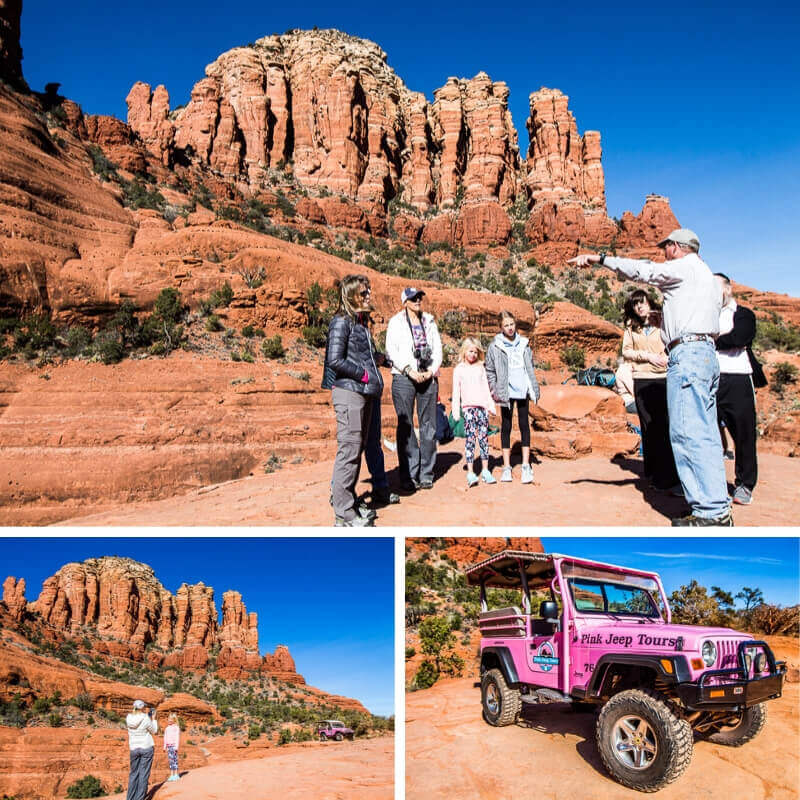 Don't Miss The Spectacular And Thrilling Sedona Pink Jeep