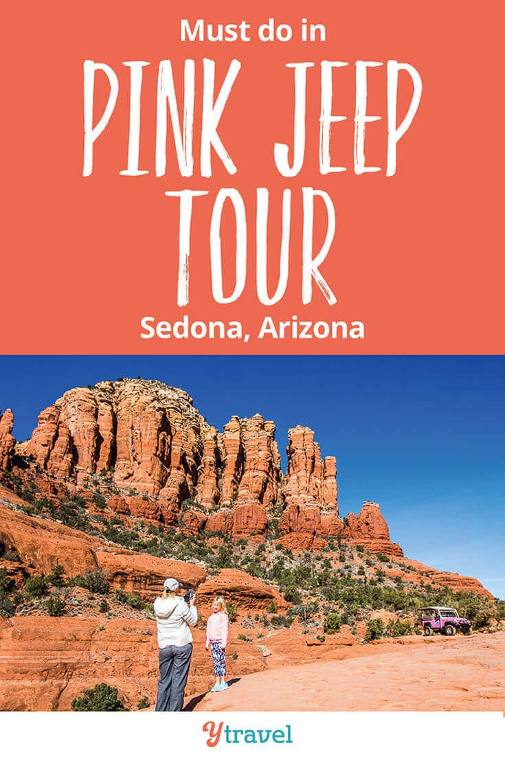 Pink Jeep Tours are one of the best things to do in Sedona Arizona. If you love adventure travel, then don't miss this in Arizona. What a thrilling way to experience Red Rock Country. See inside for all the details!