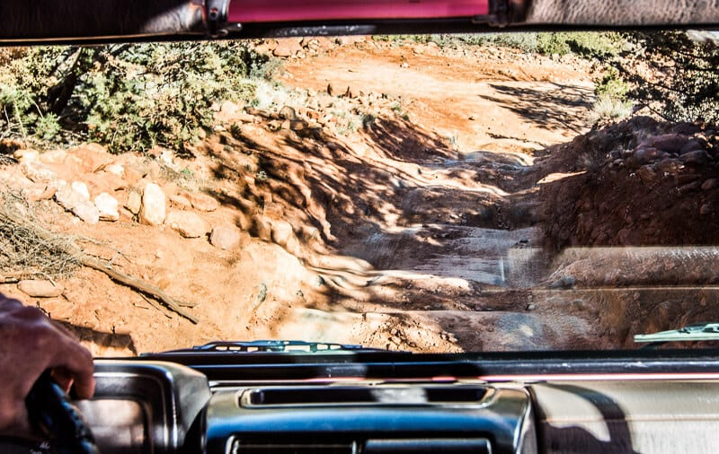 Braoken Arrow Pink Jeep Tour, Sedona
