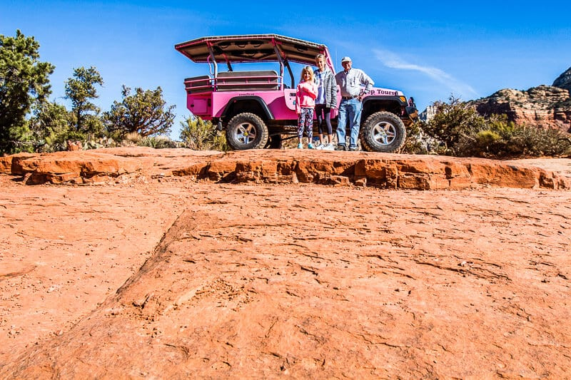 Pink Jeep Tour of Sedona