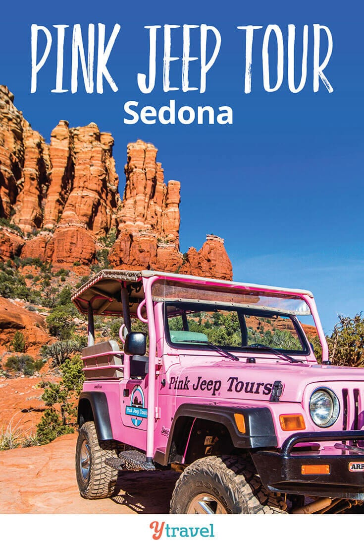 Best things to do in Sedona Arizona is a Pink Jeep Tour. If you love adventure travel, then don't miss this in Arizona. What a thrilling way to experience Red Rock Country. See inside for all the details!