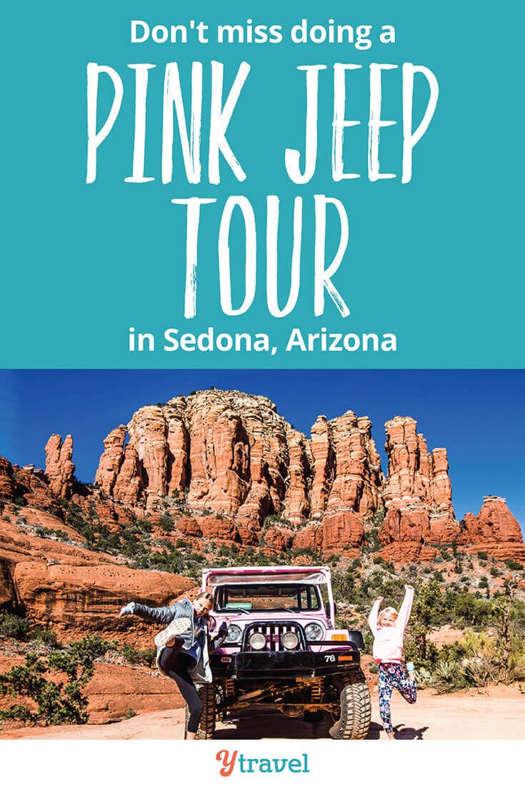 Fun things to do in Sedona Arizona is a Pink Jeep Tour. If you love adventure travel, then don't miss this in Arizona. What a thrilling way to experience Red Rock Country. See inside for all the details!