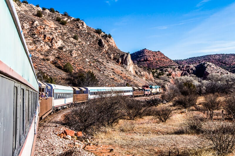 Verde Canyon Railroad - southwest USA attraction