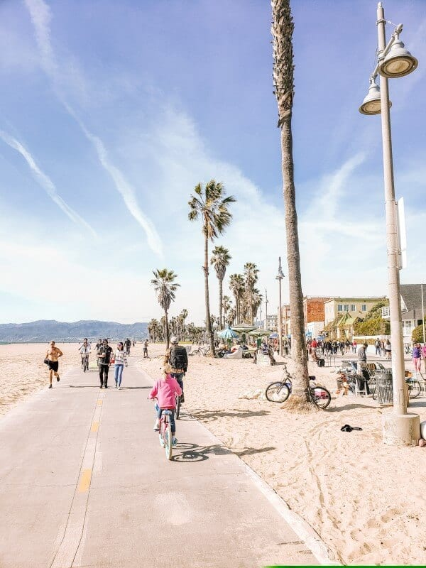 bike ride santa monica to venice