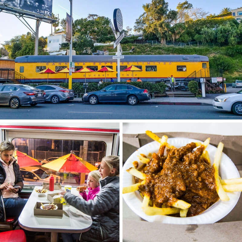 Carneys Restaurant  - family activities in LA