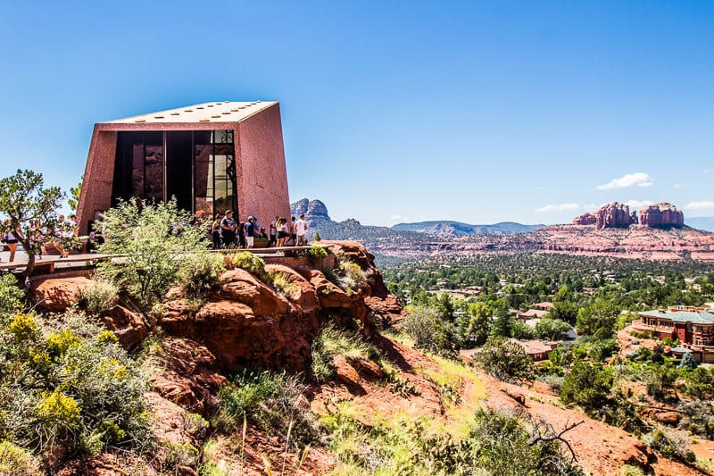 chapel-of-the-holy-cross-sedona-4 ▷ Guía de los poderosos sitios de Sedona Vortex (+ mis experiencias)
