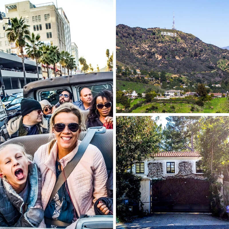 Movie Star Homes Tour in LA
