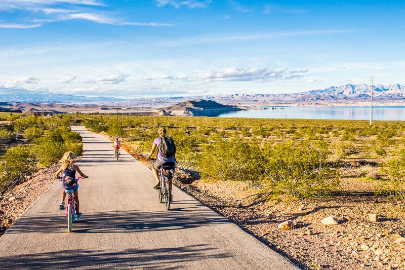 bike path lake mead