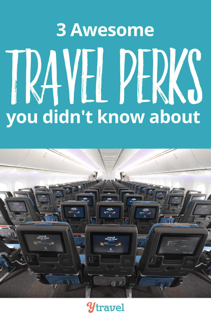 3 travel perks to make your traveling a little less expensive - There are good travel deals and travel hacks related to cheap travel. The trick is to know which ones are available to you and when you can take advantage of them.