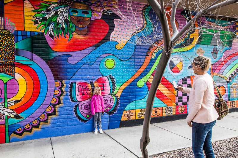 Murals in Downtown Tucson
