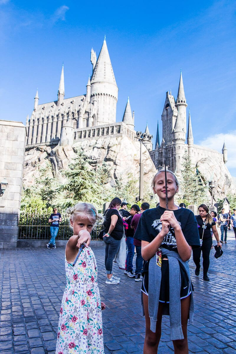 The Wizarding World of Universal Studios Hollywood