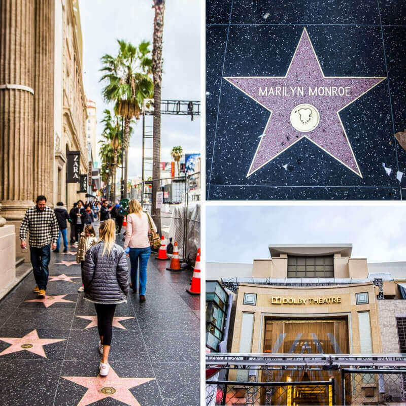 Hollywood Walk of Fame - tips on what to do in LA with kids