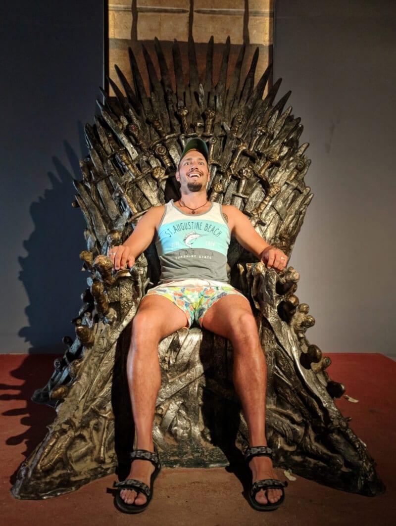 Iron Throne GOT Otok Locrum Island Dubrovnik Croatia 1