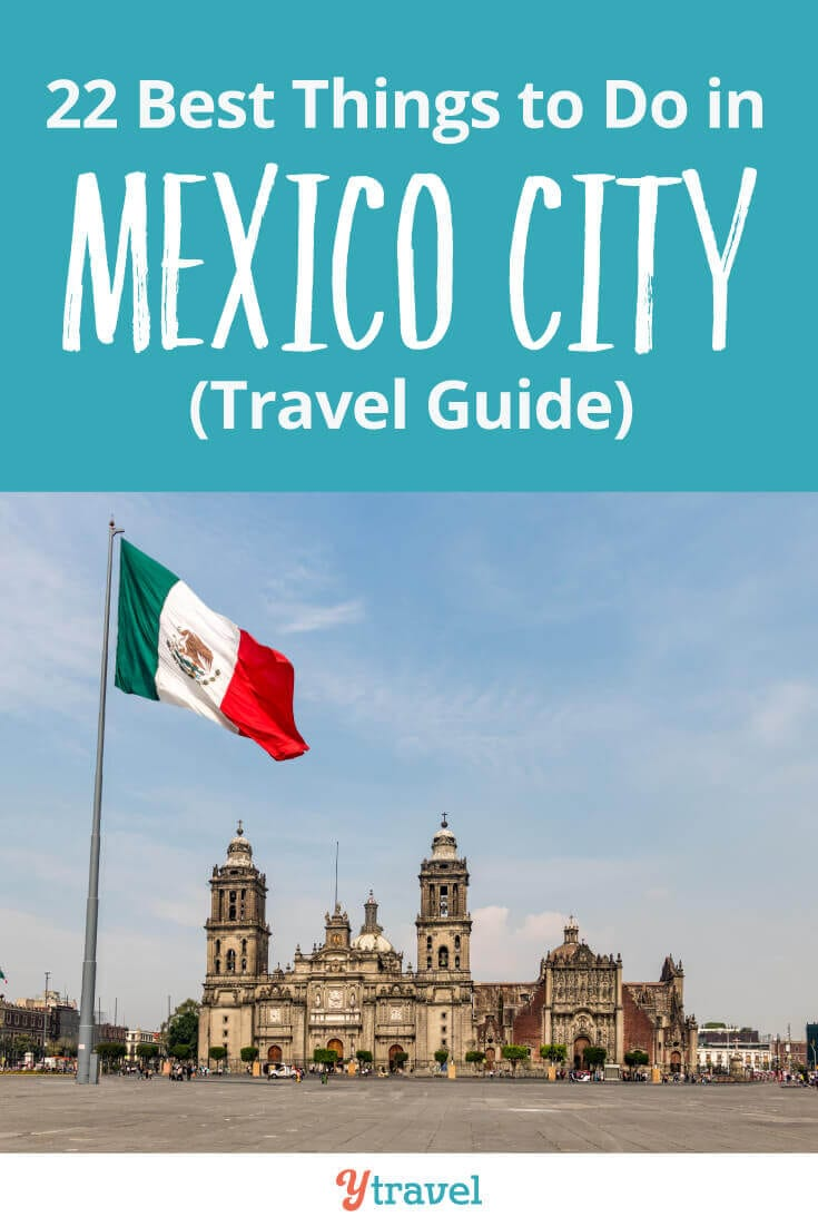22 Best Things to Do in Mexico City - Tips on what to see and do, free walking tours, where to stay, best museums in Mexico City, Mexican food and drinks to try, how to get around, and much more. Don't visit Mexico City before reading this Mexico City travel guide!