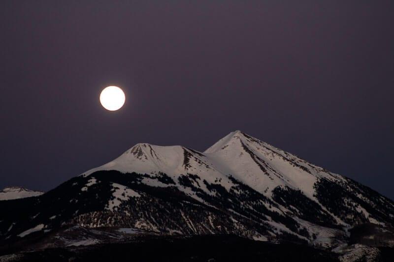 moon rise Moab