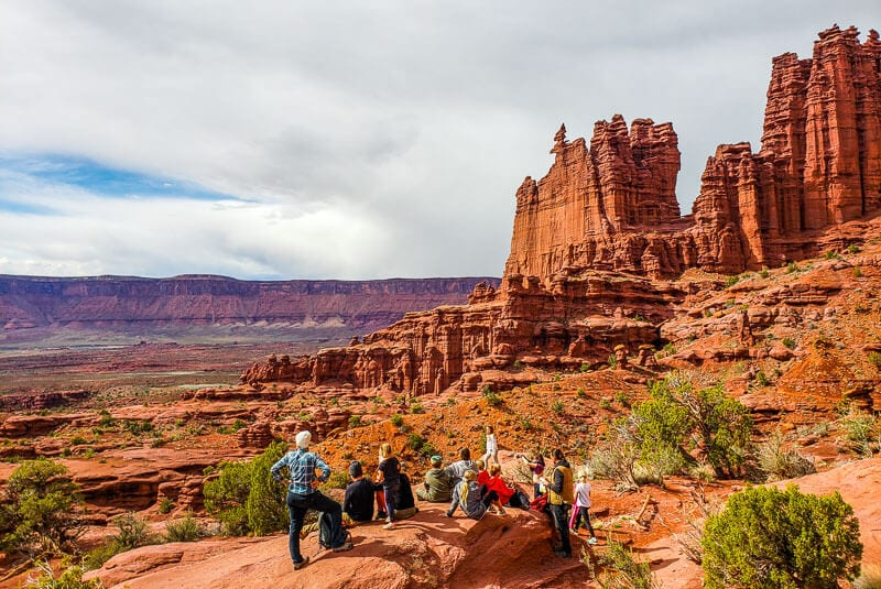 Fisher Towers hike in Moab, Utah hidden secret