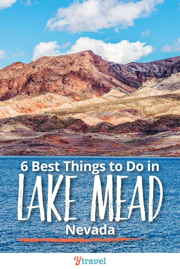 One of the best day trips from Las Vegas is to Lake Mead. Here are the 6 best things to do at Lake Mead, plus tips on tours, camping, and how to get there!