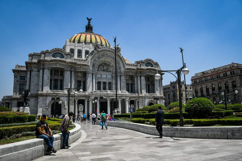 Palacio de Bellas Artes - one of the best Mexico City museums
