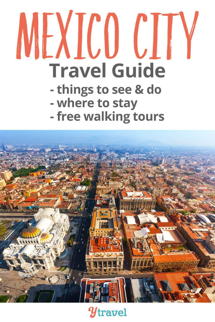 Mexico City Travel Guide - 22 of the Best Things to Do in Mexico City. Tips on what to see and do, where to stay, Mexican food and drinks to try, best museums in Mexico City, how to get around, and much more. Don't visit Mexico City before reading this!