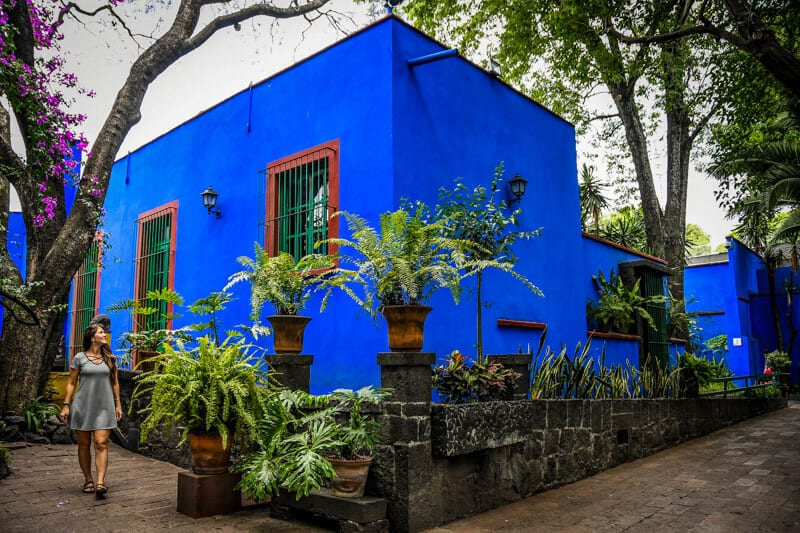 Learn about Frida Kahlo at La Casa Azul