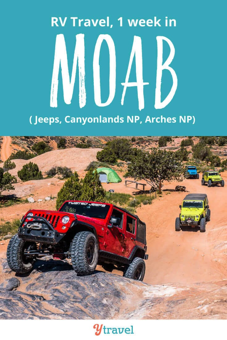 Week 21 of our USA road trip kept us in Moab Utah. Highlights included jeep adventures, Canyonlands National Park and Arches National Park. See all the tips on the blog!