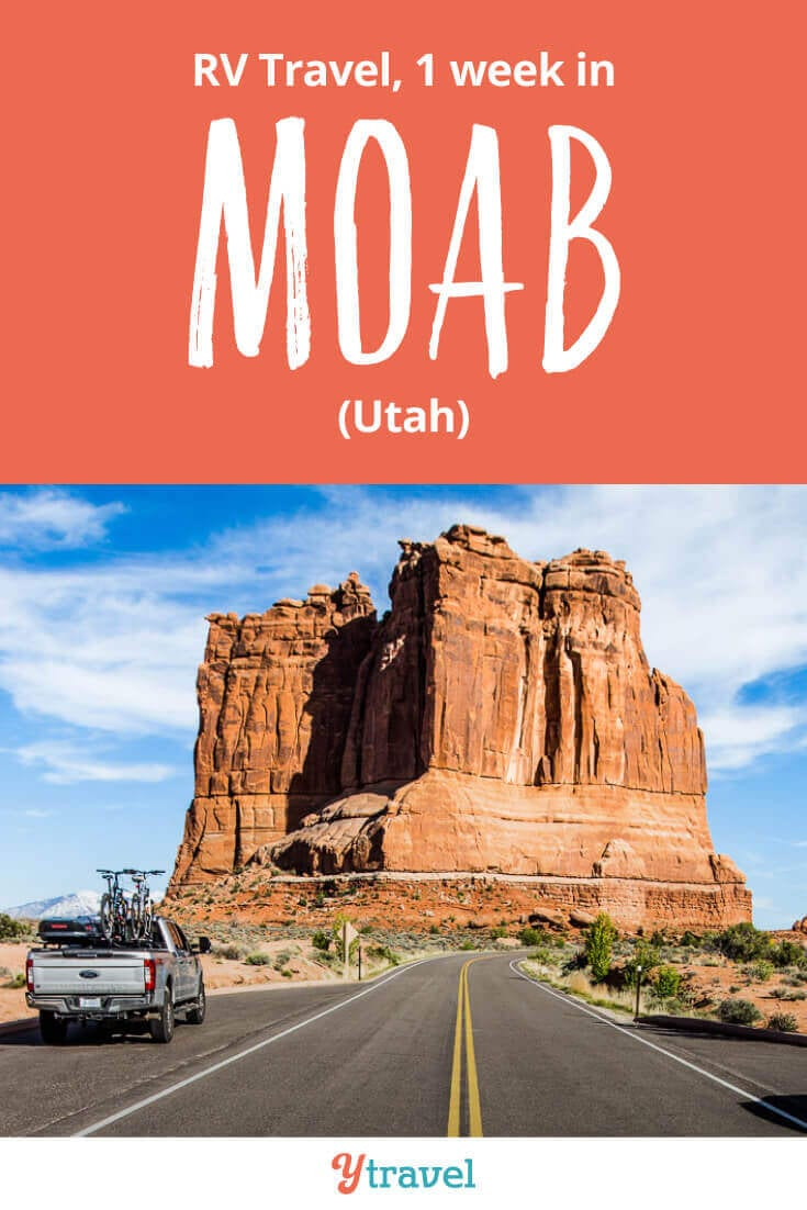 Week 20 of our one year RV USA road trip had us in Moab, Utah. Highlights included Canyonlands National Park, Arches National Park, and Dead Horse Point State Park. Get all our travel tips, lessons & costs from the road on the blog!