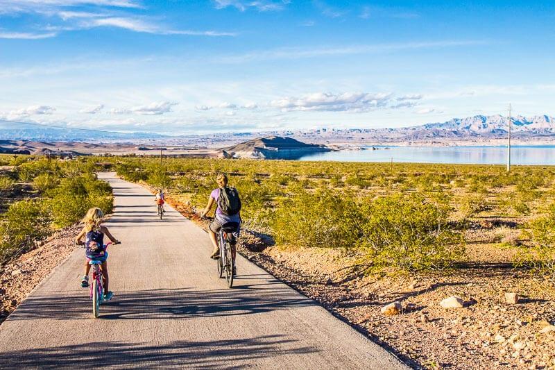 River Mountains Loop Bike Trail, Lake Mead