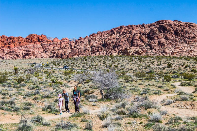 Red Rock Canyon National Recreation Area