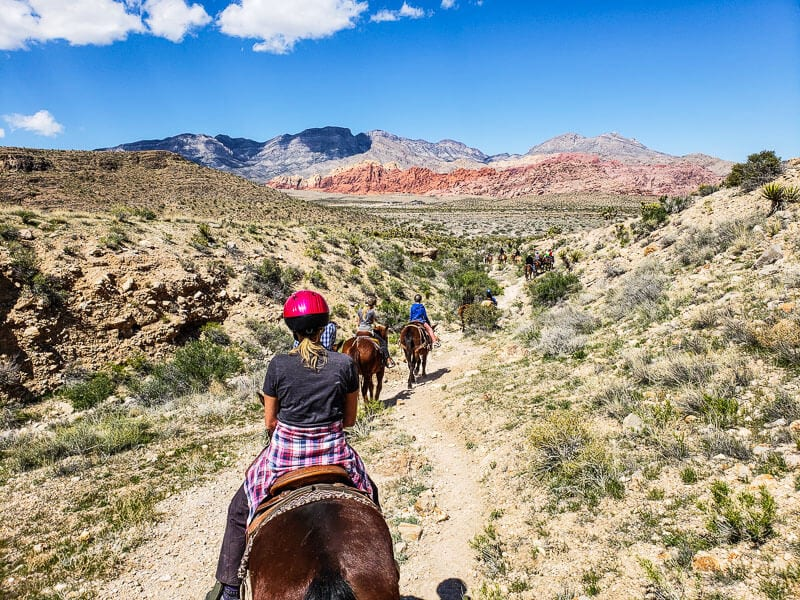 Horse Riding Red Rock Canyon