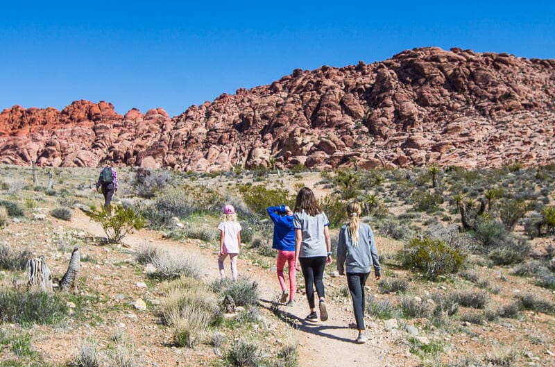 Red Rock Canyon National Recreation Area, LAs Vegas