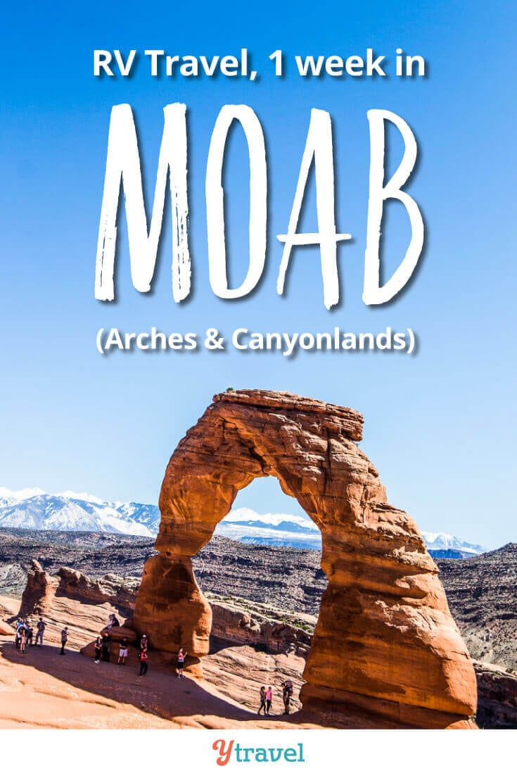Week 20 of our USA road trip had us in Moab, Utah. Highlights included Canyonlands National Park, Arches National Park, and Dead Horse Point State Park. Get all our travel tips, lessons & costs from the road on the blog!