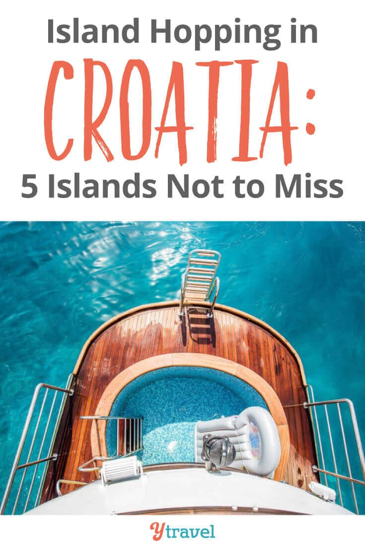 Sail Croatia - 5 Can't Miss Croatia Islands for a sailing adventure. One of the best things to do in Croatia is go island hopping, and when you sail Croatia here are 5 islands to explore, plus tips on cruises and tours in Croatia!