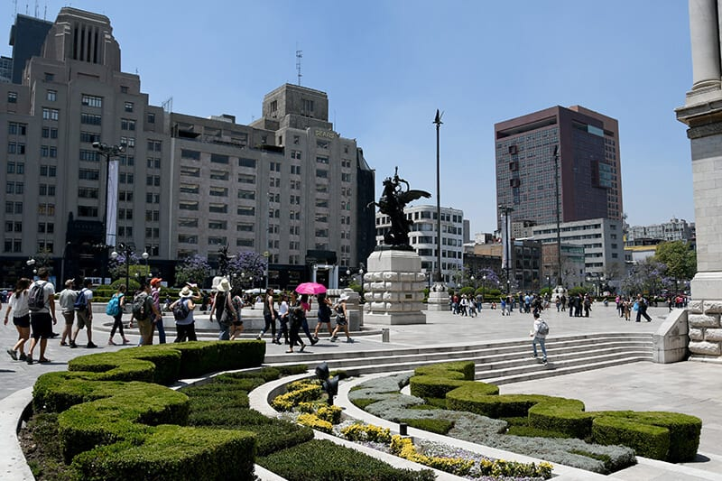 Walking tour of Mexico City
