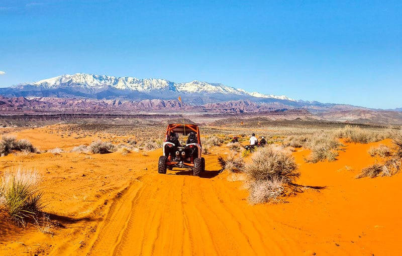 ATV Adventures in Sand Hollow State Park Best places to see in Utah