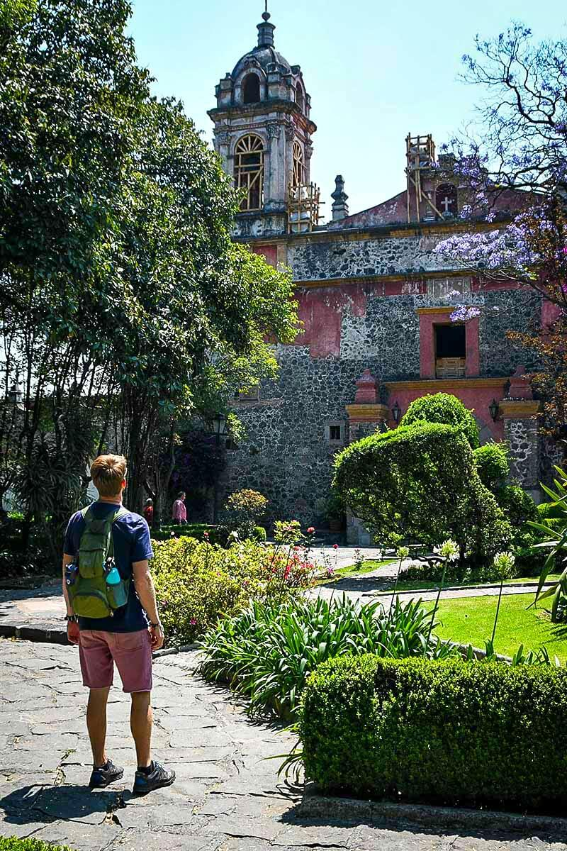 One of the best things to do in Mexico City is explore the San Angel Neighborhood
