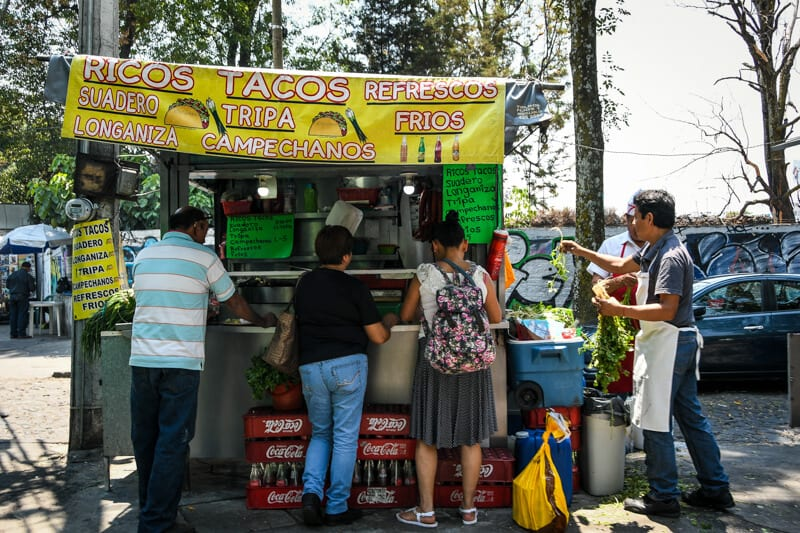 Sample the Street Food in Mexico City