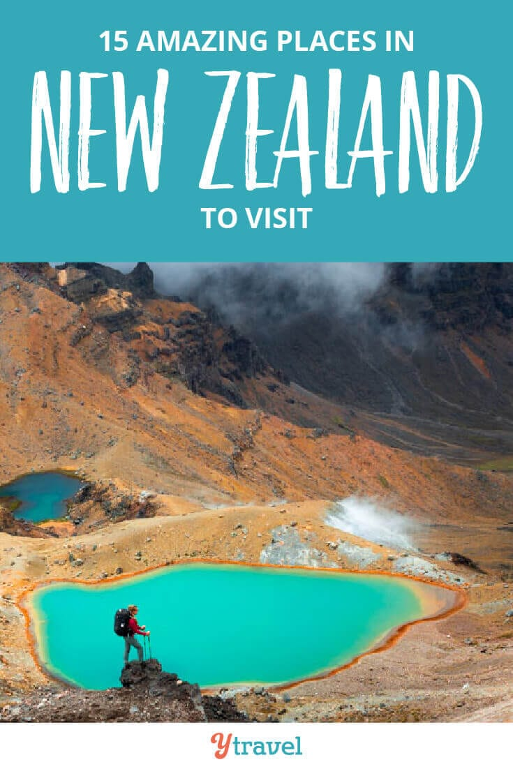 15 best places to visit in New Zealand, including both the North and South Islands. Don't visit NZ until your read this New Zealand travel guide, plus get tips on where to stay in each place and tours in New Zealand.