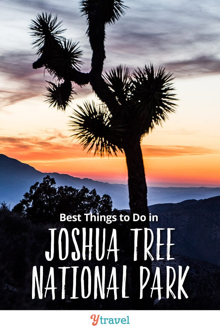 8 best things to do in Joshua Tree National Park, including tips on how to get there, where to stay, and much more. This is one of the top National Parks in California and a great road trip destination for those that love the desert and hiking trails. See blog post for all the details.