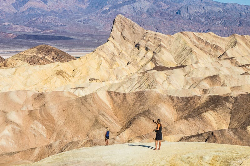 Zabriskie's Point, Death Valley